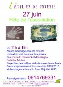 Affiche fête 27 juin